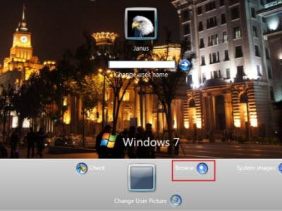 Windows 開機登入畫面看煩了,就放自己的照片並做改造吧