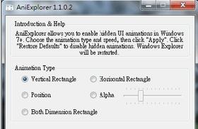 開啟 Windows 檔案總管隱藏特效,讓圖示滑動出來