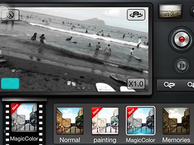 Movie360:讓 iPhone 錄影也能套用色彩效果