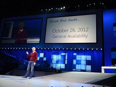 Windows 8 開賣日期確定,就在2012年10月26日