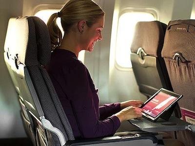 當 iPad 開始取代飛機電視,逐漸改變航空業