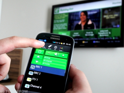 2012 倫敦奧運 Samsung 與飯店合作,用 S3 就能當鑰匙、遙控器、打客房服務和分機