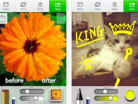 Line 推出 Line Brush,好好玩的手繪畫圖,也能把照片塗上特效