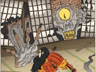 電玩角色變日本浮世繪出新招,新圖、動畫齊出爐