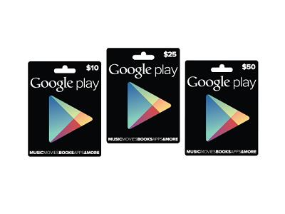 Google Play Gift Card 正式推出,台灣恐怕沒得玩