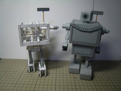 紙做的步行機器人,不用金屬和電力,你猜動力系統是什麼?