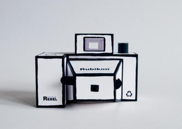 Rubikon 紙相機:自己 DIY、讓學生了解針孔成像原理,拍的照片還不錯