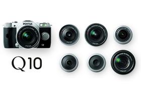 Pentax Q10 微單眼發表,新望遠變焦鏡、轉接環同步亮相