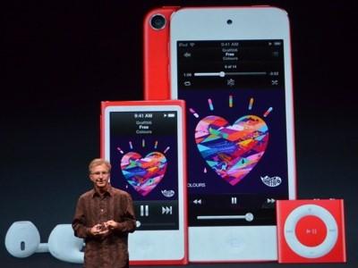 Apple 發表觸控螢幕的 iPod nano,螢幕、處理器升級還能照相的 iPod touch