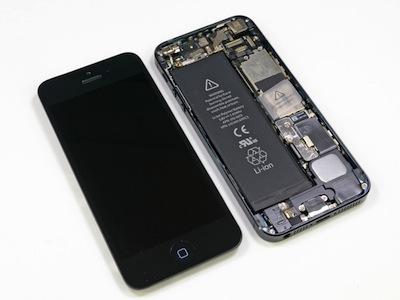 iPhone 5 拆解秀又來了,用了什麼料?好輕的機身秤給你看