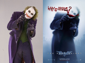 「永遠的小丑」:黑暗騎士希斯萊傑,未處理宣傳照曝光