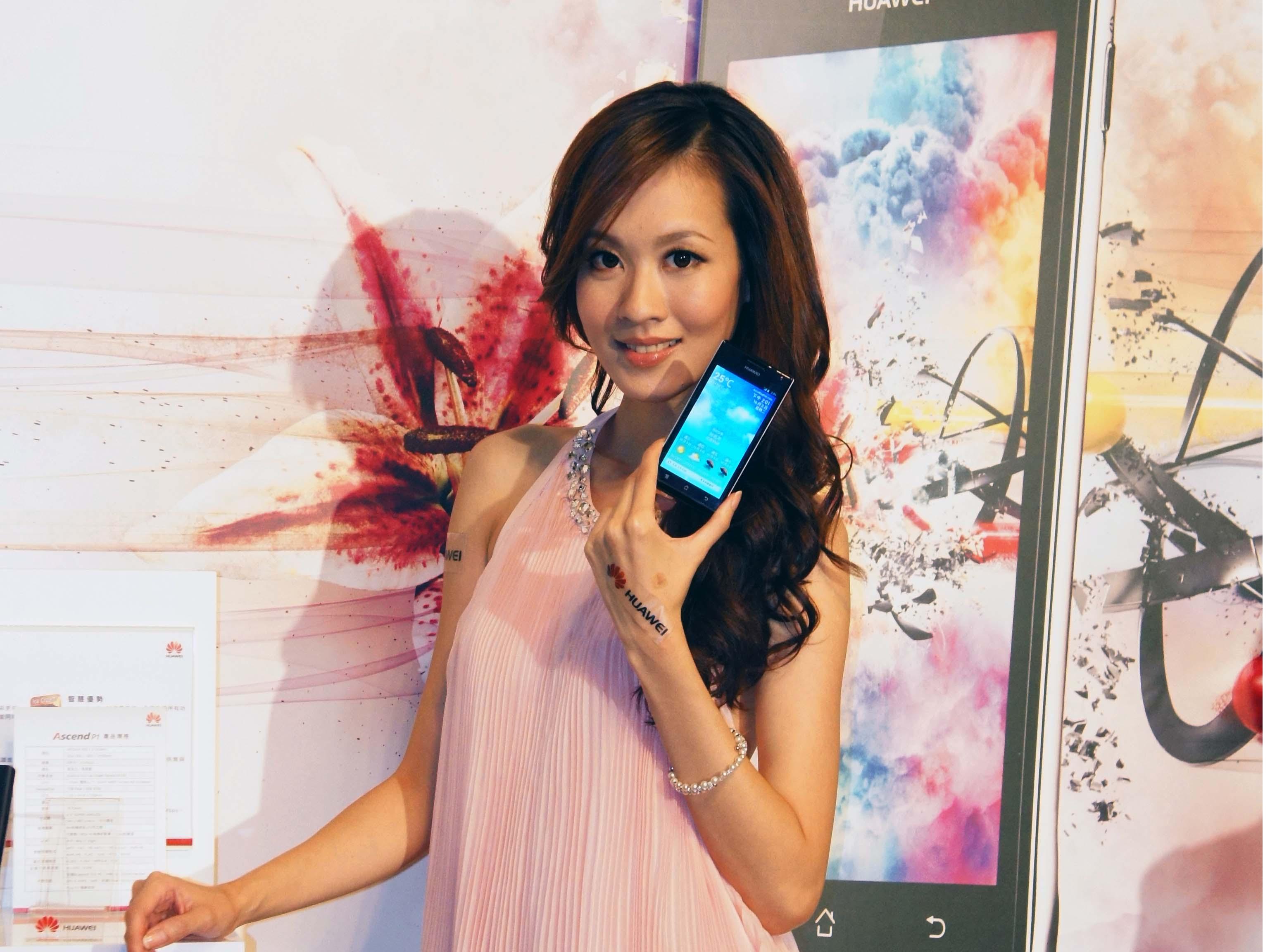 Huawei Ascend P1 首款雙核心中高階手機,12,990元開賣