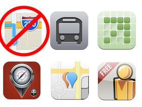 iOS 6 地圖不滿意?透過第三方 App 找回 iPhone 上的 Google Maps