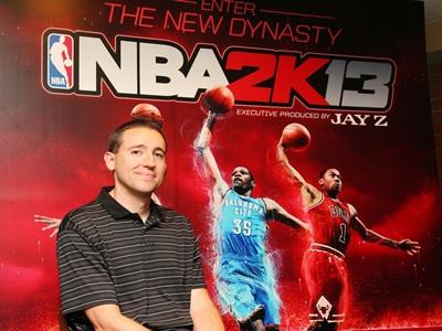 NBA 2K13 製作人 Erick Boenisch 專訪,暢談運動遊戲製作大小事