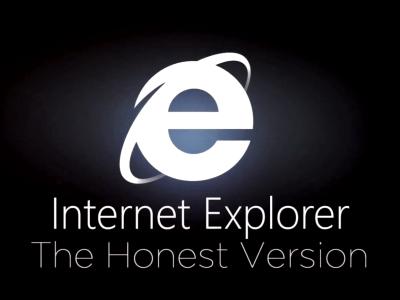 這才是現實!微軟 IE9 電視廣告被「誠實版」揶揄