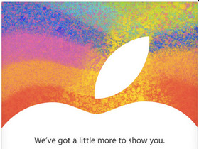 Apple 將在10月23日舉行發表會,iPad mini 終於要來了?
