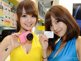 2012 台北攝影器材展: Show Girl 帶你玩各大展區