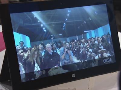 微軟 Surface 平板正式發表,重新想像的 Windows RT 硬體