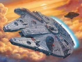 星際大戰知名船艦:等比例千年鷹號建造工程,目前正在進行中