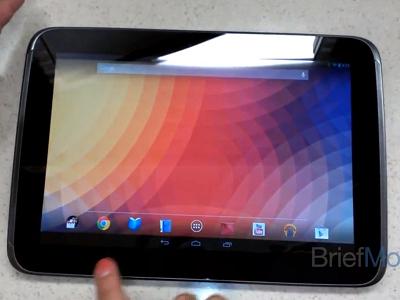 Google Nexus 10 國外動手玩!Android 4.2 作業系統介面大不同