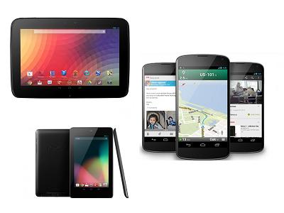 Google 正式發表  Nexus 10 平板、Nexus 4 手機,Nexus 7 降價促銷