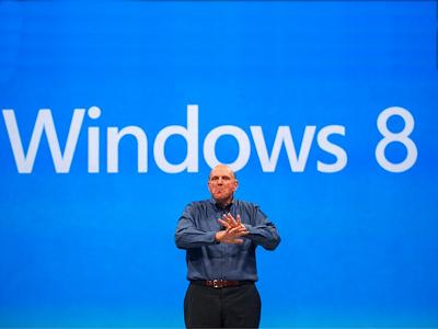 Windows 8 上市 4 天賣出 400 萬套,距離年度 4 億套目標達成 1%