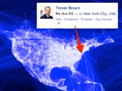 颶風珊蒂重創美東,Facebook 成為網友報平安佈告欄