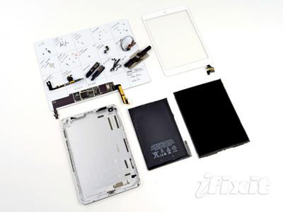 iFixit 解體 iPad Mini,搭載 Samsung 螢幕、4400mAh 電池、立體聲喇叭