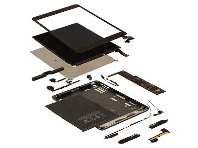 iPad Mini 成本美金 188 元起跳,面板成本佔 43%