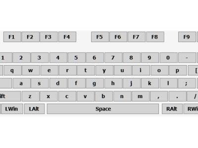 常常按錯視窗鍵?Mapkeyboard 讓你輕鬆更改鍵盤的對應鍵或是禁用