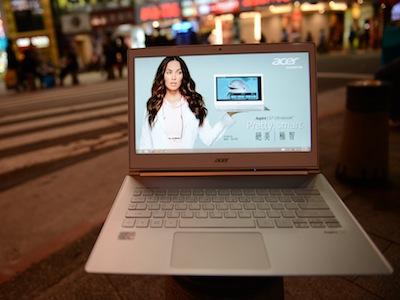 Acer Aspire S7 評測:簡潔雪白超薄 Win 8 觸控筆電