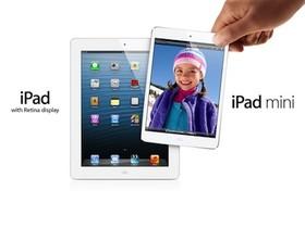 iPad mini 與 iPad 4 ,3 天售出 300 萬台