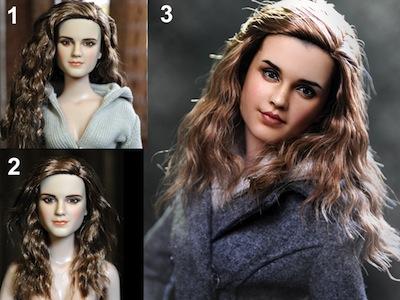 這才是哈利波特!電影主題人形玩偶大改造,化妝前、化妝後真的有差