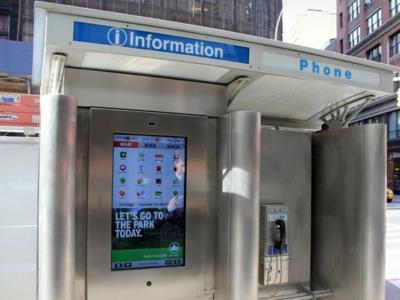 公共電話亭已死?紐約市計畫以 32 吋觸控螢幕取代公共電話