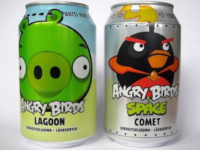 芬蘭最受歡迎的 Angry Birds 憤怒鳥蘇打汽水,你也想來一罐嗎?