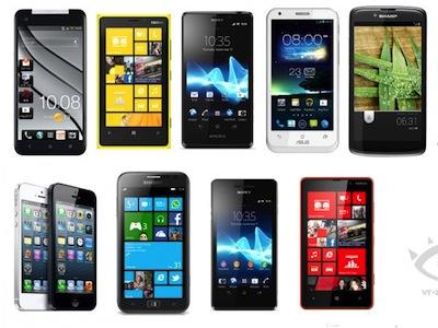 12 月新手機:Android、iOS、Windows Phone 三大系統旗艦入列