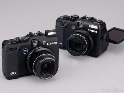 Canon PowerShot G15 vs G12 ,高階類單眼 PK 評比