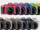 Pentax K-x數位單眼100種顏色任你選