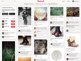 觀點:從 Pinterest 界面之濫用,談閱讀行為、訊息與版面(傳統媒體篇)