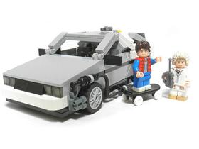 玩家提案成功!LEGO 正式宣佈 2013 年發售「回到未來」時光車組合