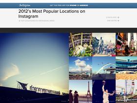 2012 Instagram 熱門拍照景點大公開,曼谷國際機場奪冠