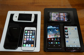 HTC Butterfly、iPhone 5、PadFone 2 三強對決,螢幕、照相表現如何呢?