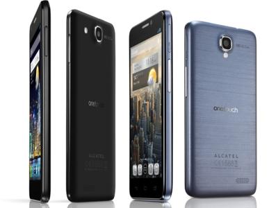 Alcatel 在 CES 推出多款智慧型手機,5 吋 HD 螢幕、極致輕薄機身