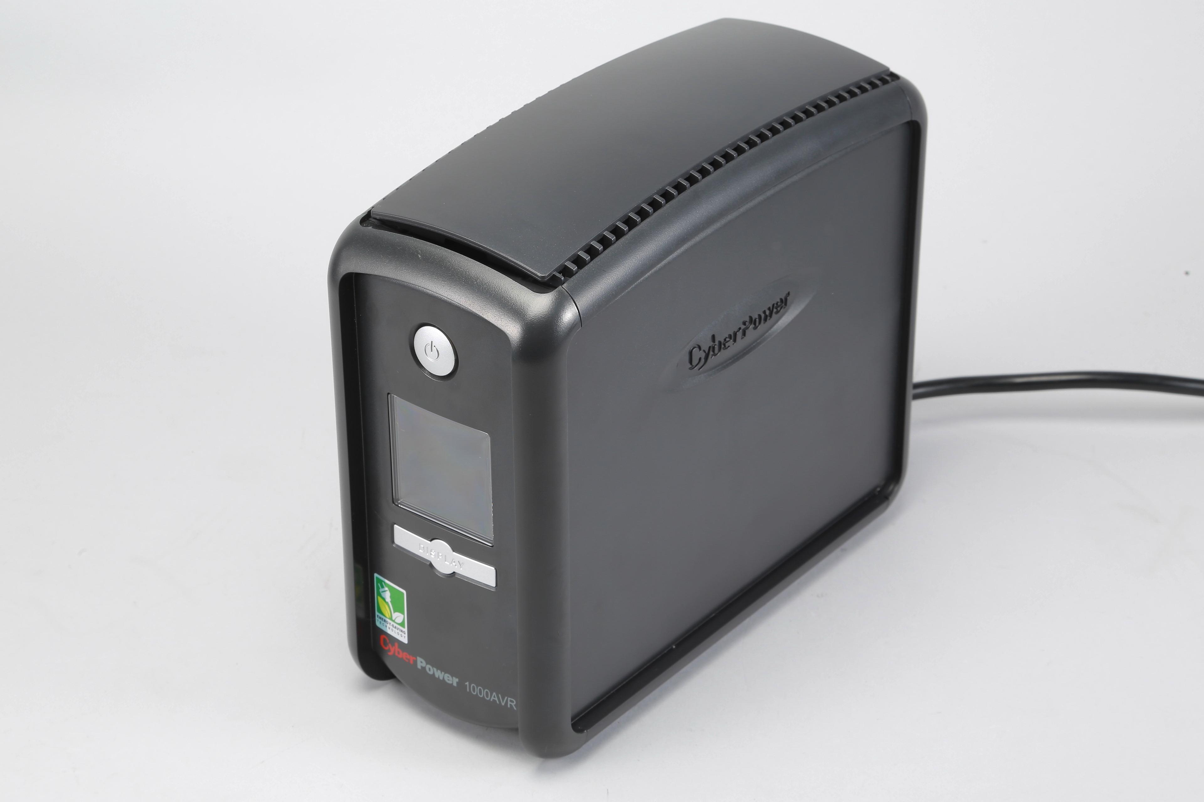 CyberPower CP1000AVRLCD:支援 LCD 顯示的 UPS