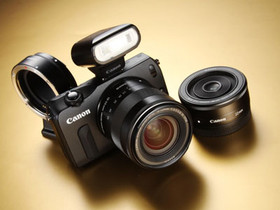 Canon EOS M 評測:微單眼新秀,可轉接龐大 EF 鏡頭群