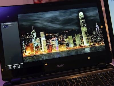 Acer 春季後將推出視網膜等級筆電?