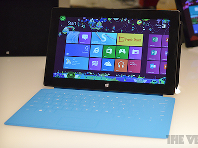 微軟 Surface Pro 平板筆電實機現身,國外搶先把玩