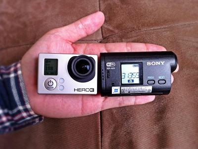 極限運動攝影正面對決,Sony Action Cam vs. GoPro HERO3