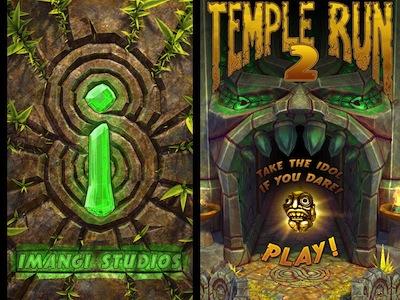當紅遊戲新一代 Temple Run 2 的 Android 版正式上架,免費下載喔!