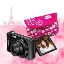 BenQ 數位相機G1花漾東京 自拍任我行 買就抽 東京來回機票、買再送 花漾相機包組